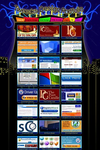 A great web design by Tweeaks Design, Boston, MA: