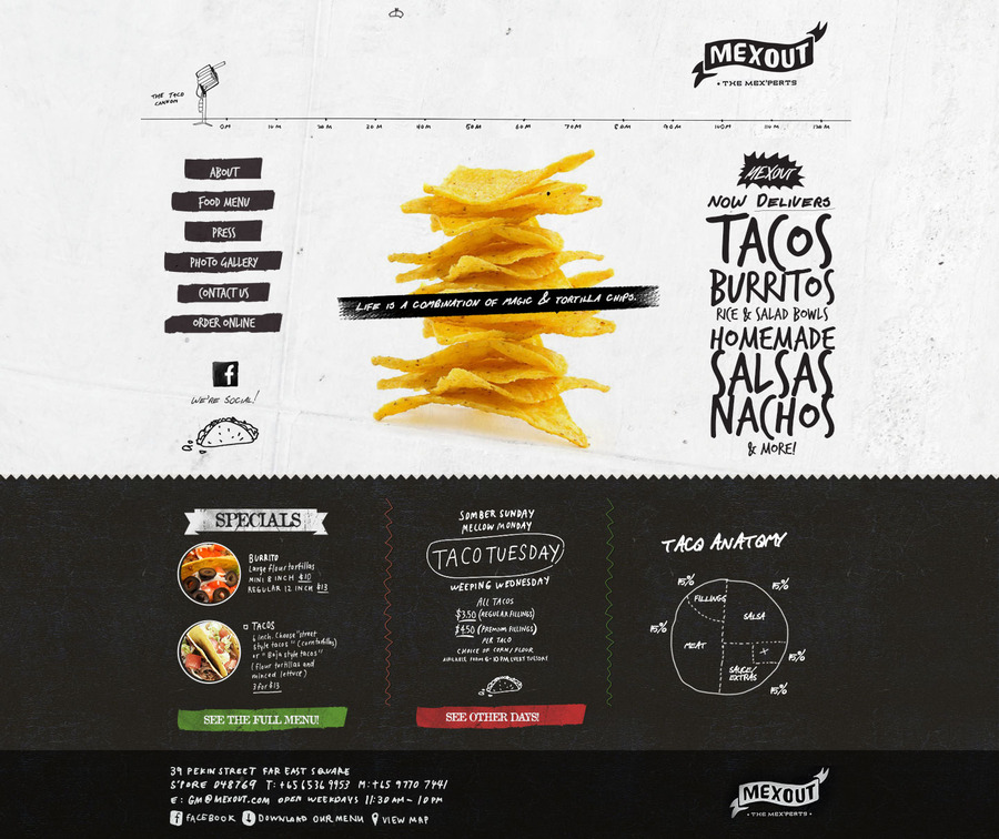 A great web design by Filez, Buenos Aires, Argentina: Responsive Website, Marketing Website , Restaurants & Bars, PHP