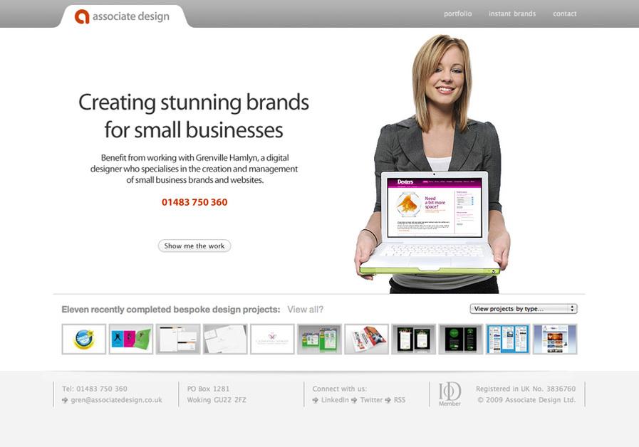A great web design by Associate Design, London, United Kingdom: