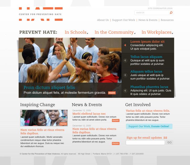 A great web design by 3c32, Portland, ME: