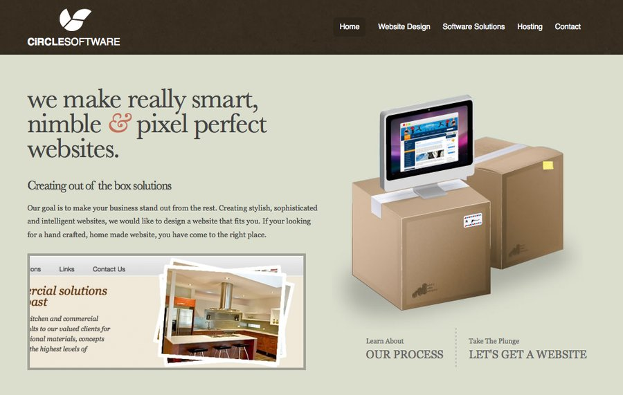A great web design by Circle Software, Sydney, Australia:
