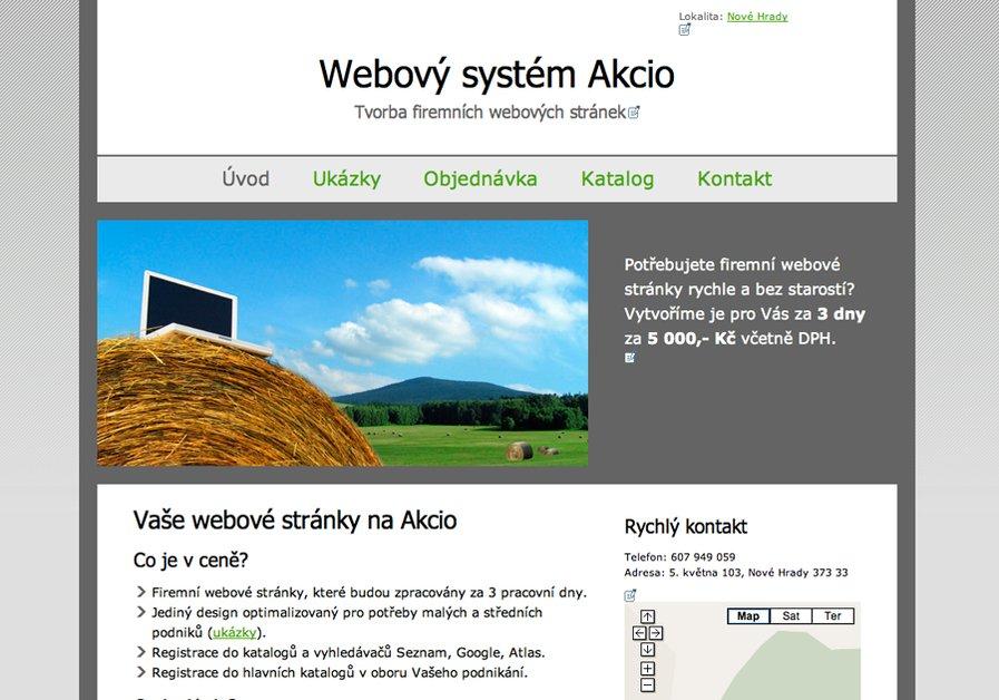 A great web design by Dancing Water, Ceske Budejovice, Czech Republic: