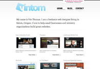 A great web design by VINTOM Ministry Designs, Portland, OR: