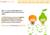A great web design by Think Orange, Lisbon, Portugal: