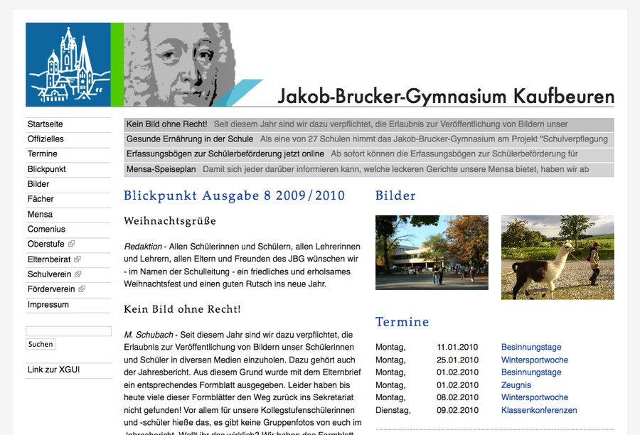 A great web design by Julian Gruber.com, Munich, Germany: