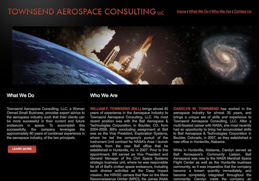 A great web design by Jason Townsend Online, Washington DC, DC: