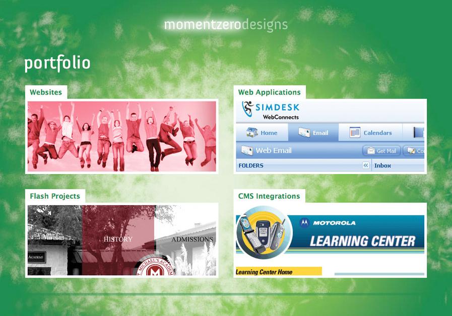 A great web design by Moment Zero, Austin, TX: