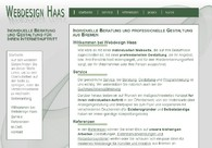 A great web design by Webdesign Haas, Bremen, Germany: