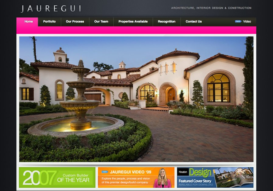 A great web design by Myover Media, Austin, TX: