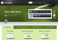 A great web design by Mocapoke Media, Los Angeles, CA: