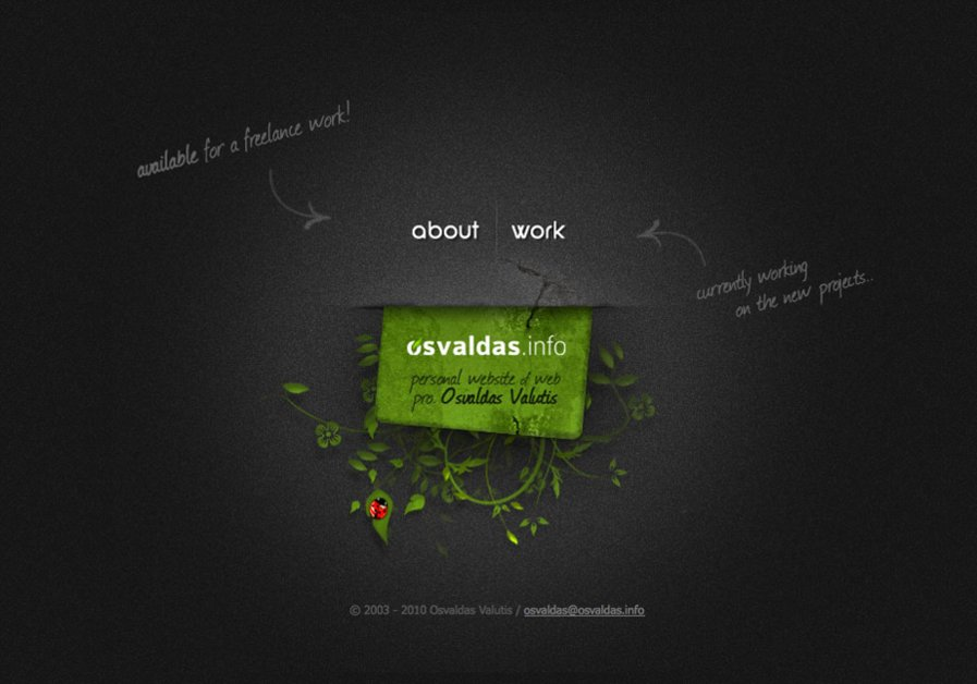 A great web design by Osvaldas Valutis, www.osvaldas.info, Vilnius, Lithuania: