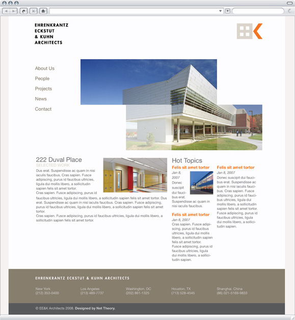 A great web design by Alvar Sirlin | Web Design & Development, New York, NY: