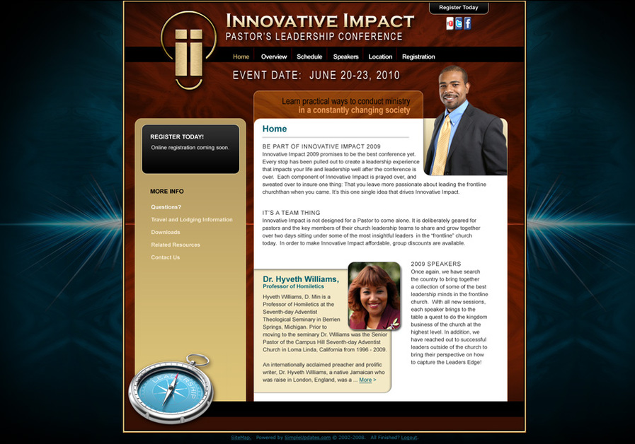 A great web design by SimpleUpdates.com, Inc., Chicago, IL: