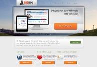 A great web design by OddDog Media: