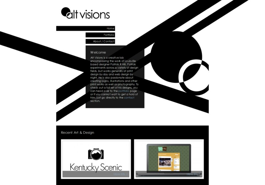 A great web design by Alt Visions, Louisville, KY: