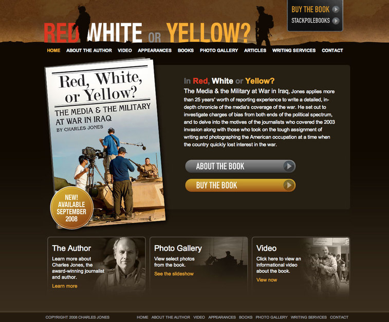 A great web design by Wamboldt Design, Richmond, VA:
