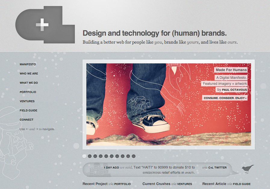 A great web design by Crush + Lovely, New York, NY: