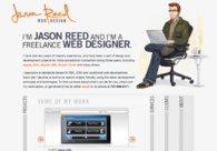 A great web design by Jason Reed, San Francisco, CA: