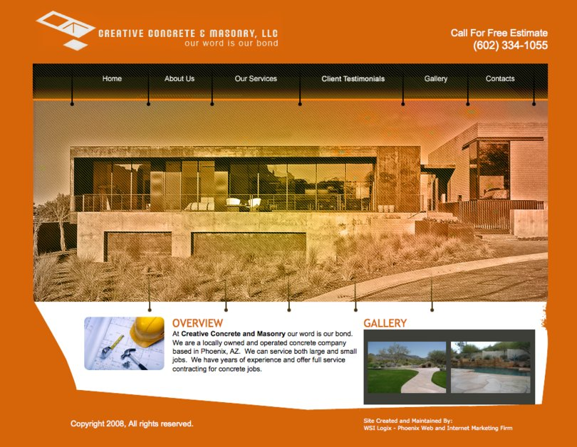 A great web design by WSI Logix, Scottsdale, AZ: