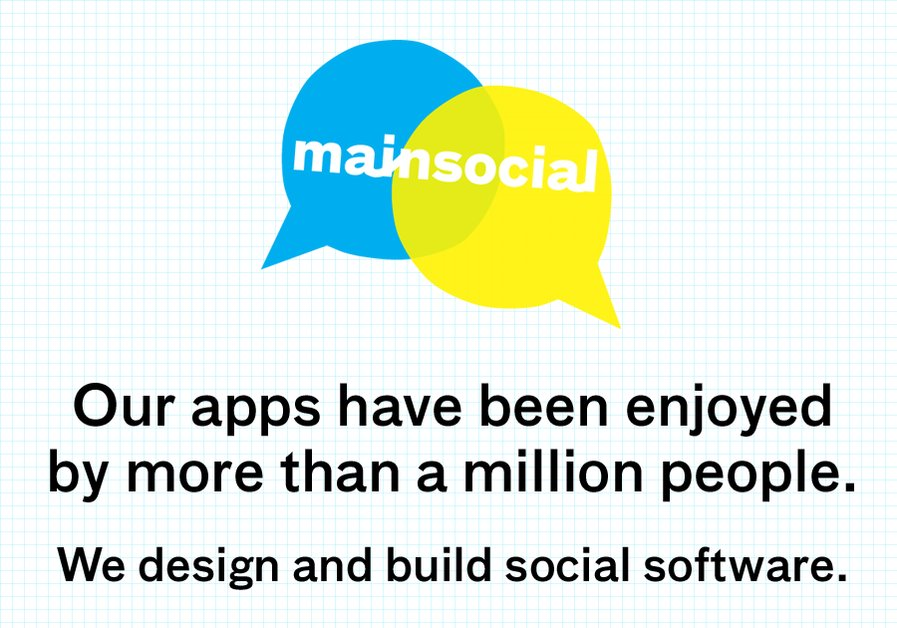 A great web design by mainsocial, Vancouver, Canada:
