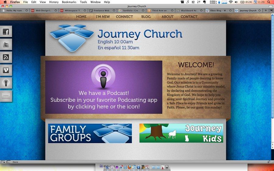 A great web design by Nathaniel Schweinberg, Tallahassee, FL: