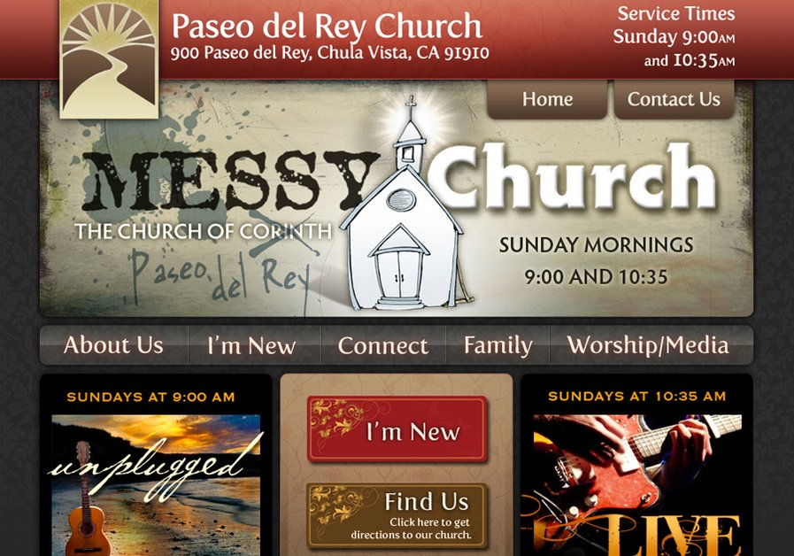 A great web design by Bennie Mosher, San Diego, CA: