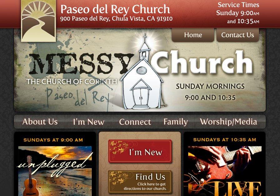 A great web design by Bennie Mosher, San Diego, CA: