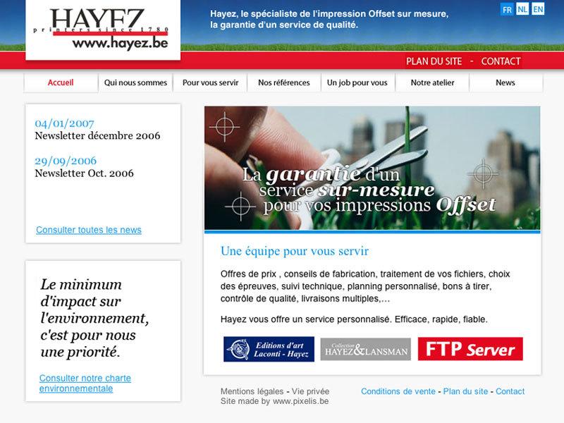 A great web design by Pixelis webagency, Brussels, Belgium: