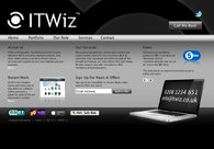 A great web design by ITWiz, Reigate, United Kingdom: