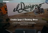 A great web design by El Designo, Edmonton, Canada: Responsive Website, Portfolio , Marketing , PHP