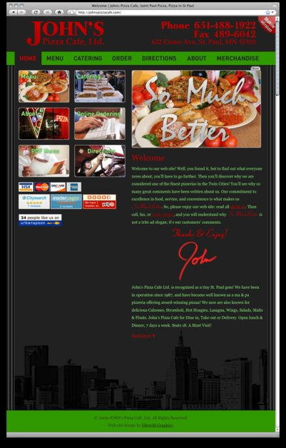 A great web design by Idlewild Graphics, Memphis, TN: