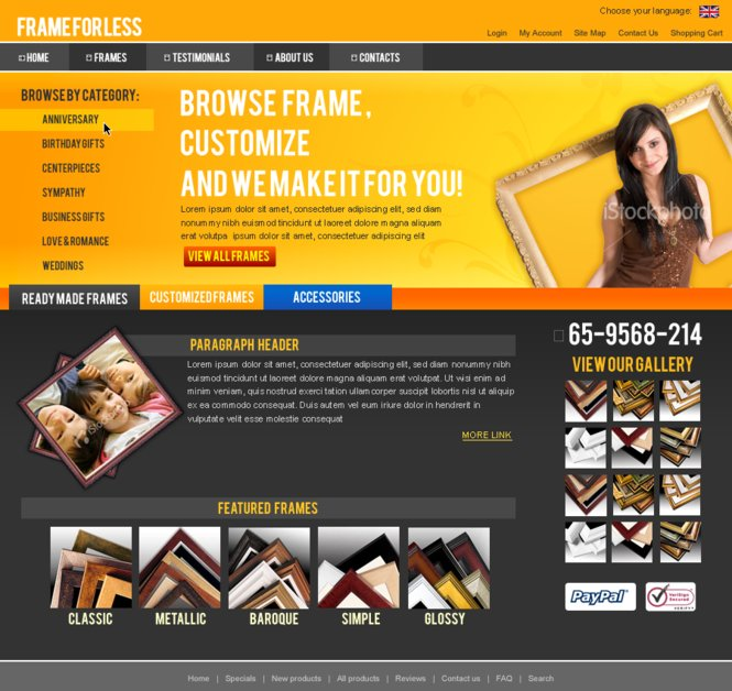 A great web design by Keithics, Cebu, Philippines: