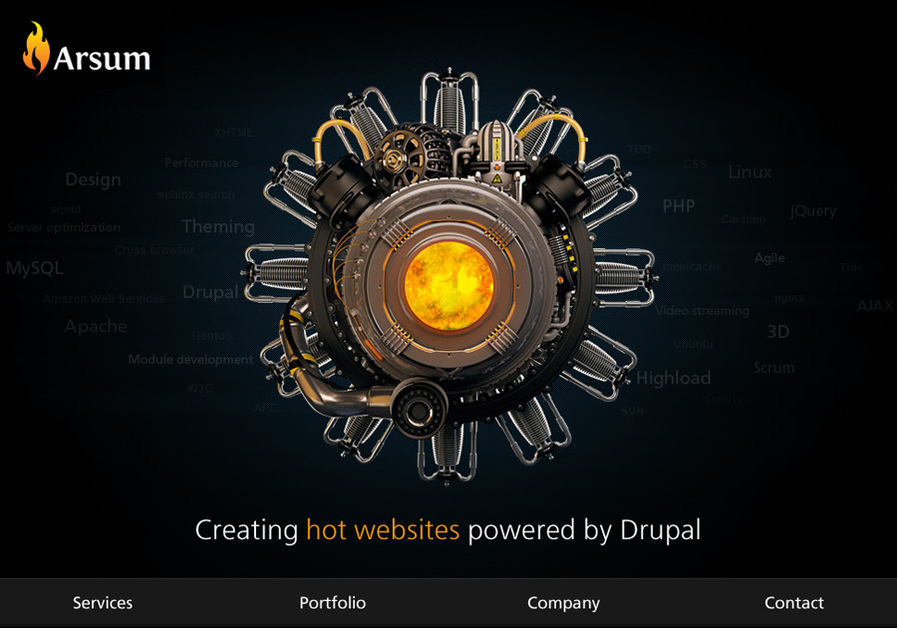 A great web design by Arsum, Dnepropetrovsk, Ukraine: