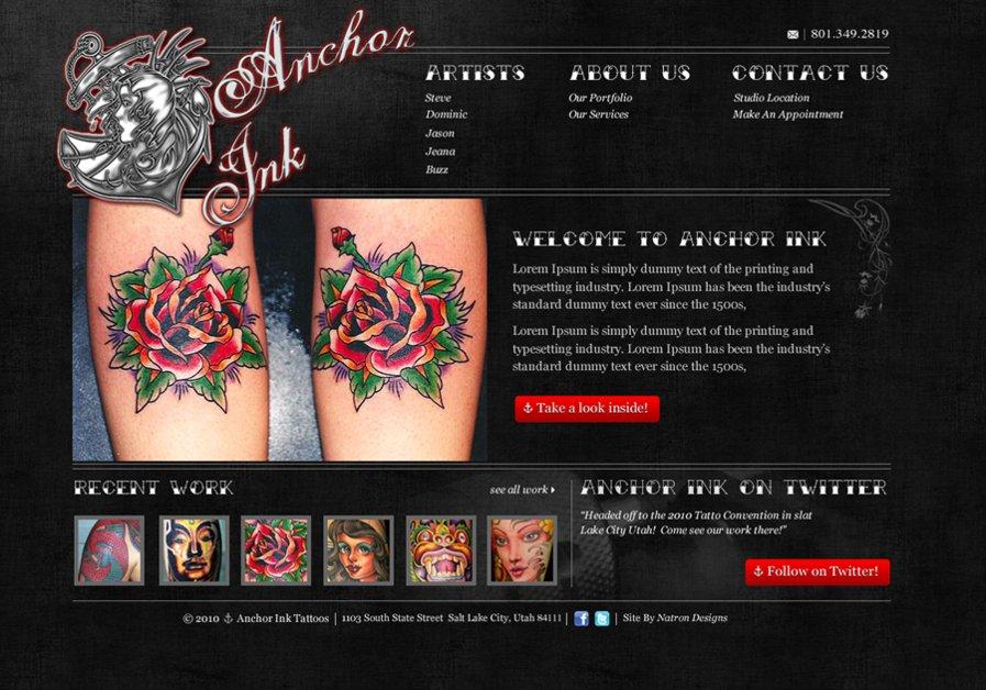 A great web design by Natron Designs, Salt Lake City, UT: