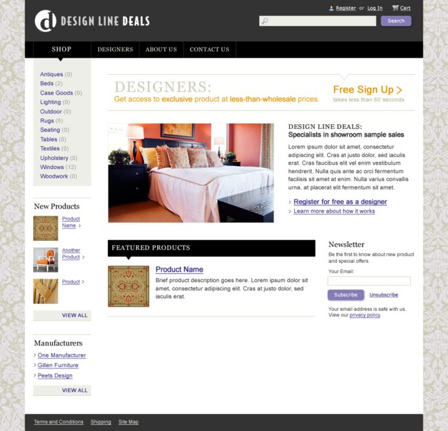 A great web design by Zoe Mickley Gillenwater, Chapel Hill, NC: