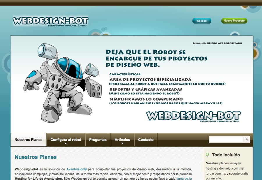 A great web design by bot.avantvision.net, Mexico City, Mexico: