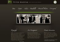 A great web design by Nick Bissel, New York, NY: