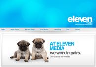 A great web design by Eleven Media, Melbourne, Australia: