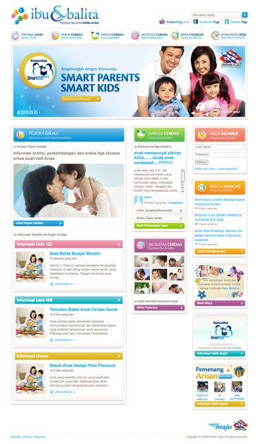 A great web design by Rizky Syazuli, Jakarta, Indonesia: