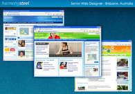 A great web design by Harmony Steel, Brisbane, Australia: