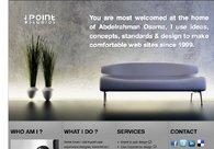 A great web design by Point studios, Riyadh, Saudi Arabia: