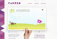 A great web design by CARBON, Calgary, Canada: