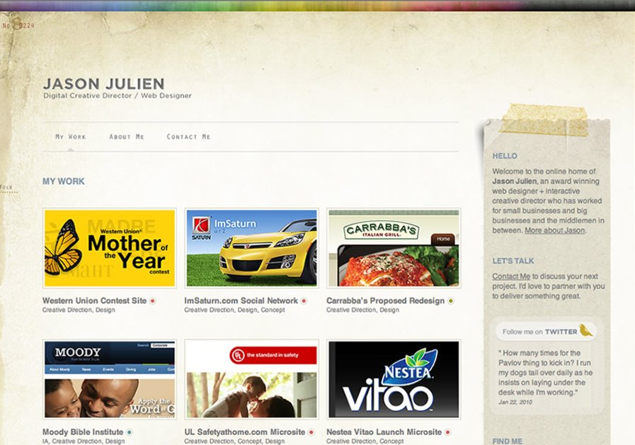 A great web design by Jason Julien, Kalamazoo, MI: