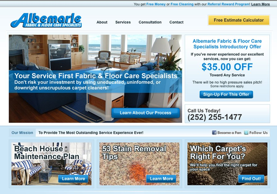 A great web design by Steven Maguire, Chicago, IL: