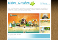 A great web design by Mike Gustafson, Boston, MA: