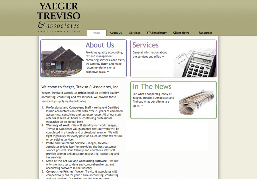 A great web design by Michael Richard Murphy, Rochester, NY: