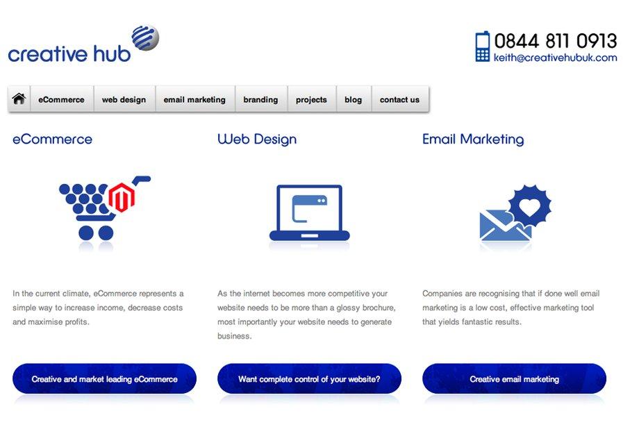 A great web design by Creative Hub, Liverpool, United Kingdom: