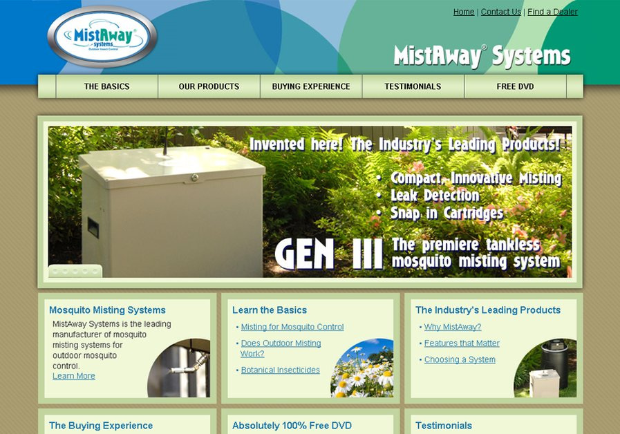 A great web design by Homer Films & Graphic Design, Houston, TX: