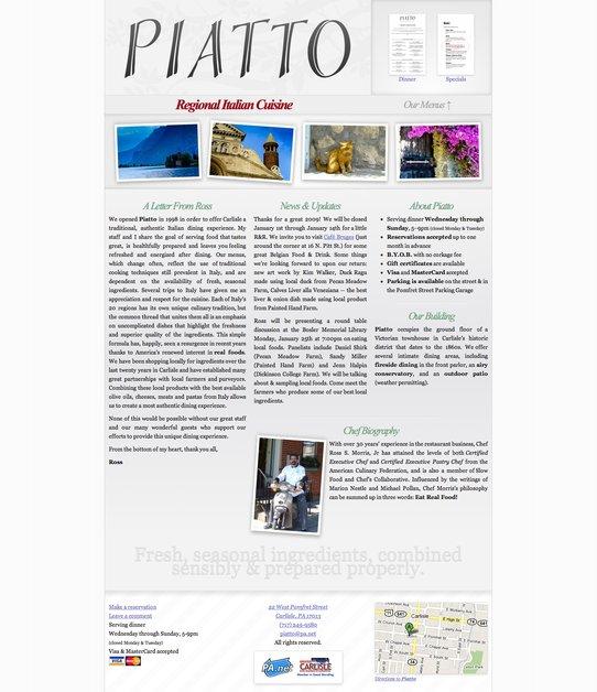 A great web design by Sam Souder, Lexington, KY: