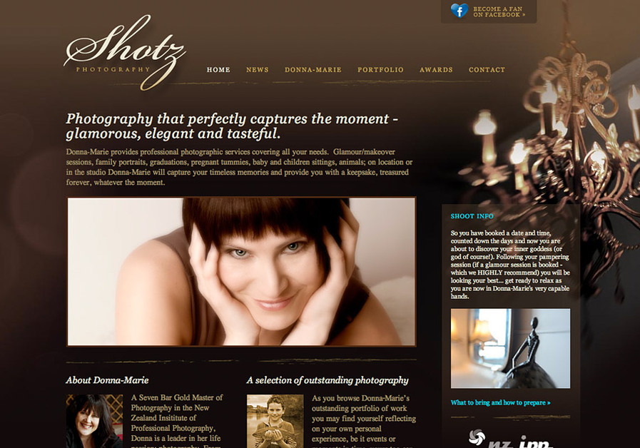 A great web design by Firebrand, Dunedin, New Zealand: